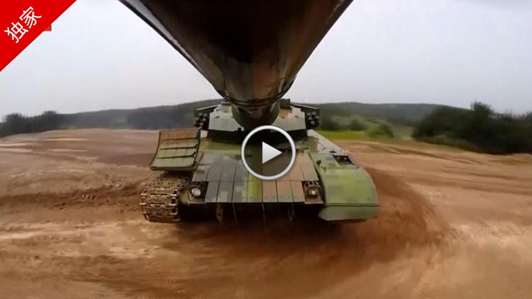 第一集团军装甲兵出征国际竞赛 震撼画面曝光