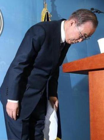 联合早报:潘基文知难而退后 把握韩政坛动向不易