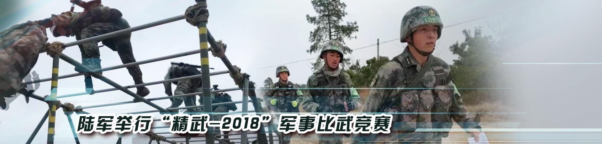 """陆军举行""""精武-2018"""" 军事比武竞赛"""