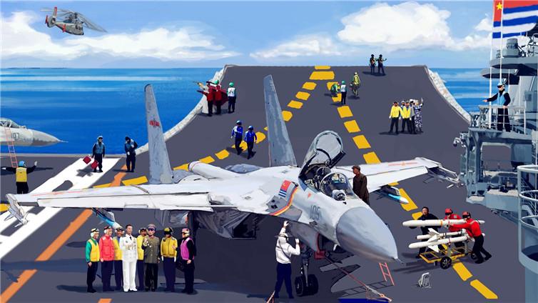 【震撼长卷】扬帆奋进70年,这盛世海军如你所愿!