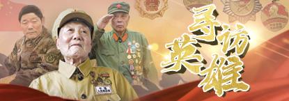 寻访英雄网络互动活动——中国军视网网络专题