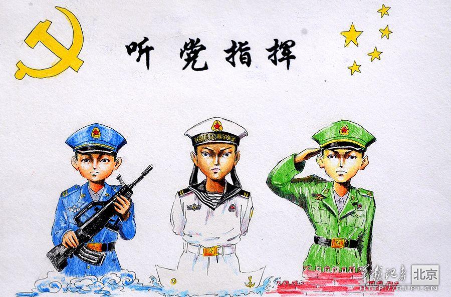旅里专门为装步一营上等兵马振林举办了一场别开生面的军旅漫画作品展