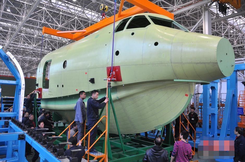 标签:两栖飞机ag600机头