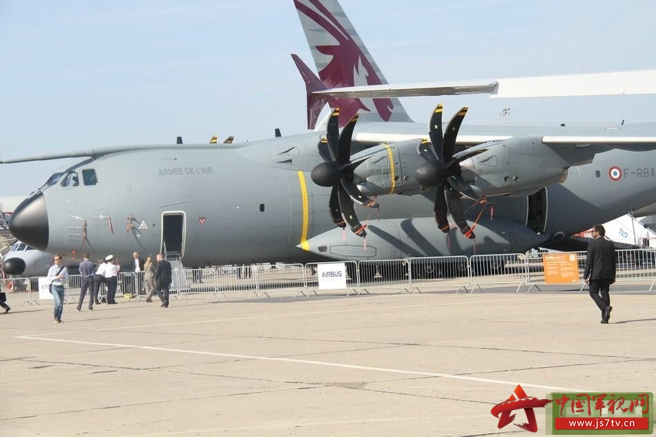 乌克兰安东诺夫设计局带来的安-178运输机