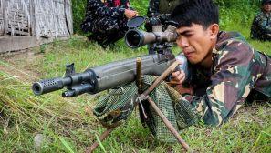 组图:菲律宾特种部队 美式装备和亚洲面孔的混搭