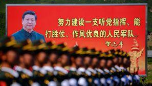 组图:北京反法西斯战争胜利70周年阅兵彩排
