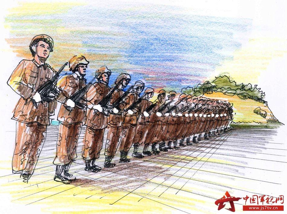 整齐威武的阅兵方阵、挥洒汗水的运动健儿、铿锵有力的呐喊助威没有浓墨重彩的过度描摹,那熟悉的生活场景仅仅通过寥寥数笔的简单勾勒便跃然纸上,淡淡的暖色调传递的则是满满正能量。近日,国防科大官兵纷纷拿起手中的画笔来记录心爱的校园,他们选取运用军校生活中最常见的元素与整体画面融为一体,用这些充满生活情趣的创意设计,为心爱的母校送上军人特有的祝福。下面,请跟随这些画面去感受军校生活的别样风光吧。