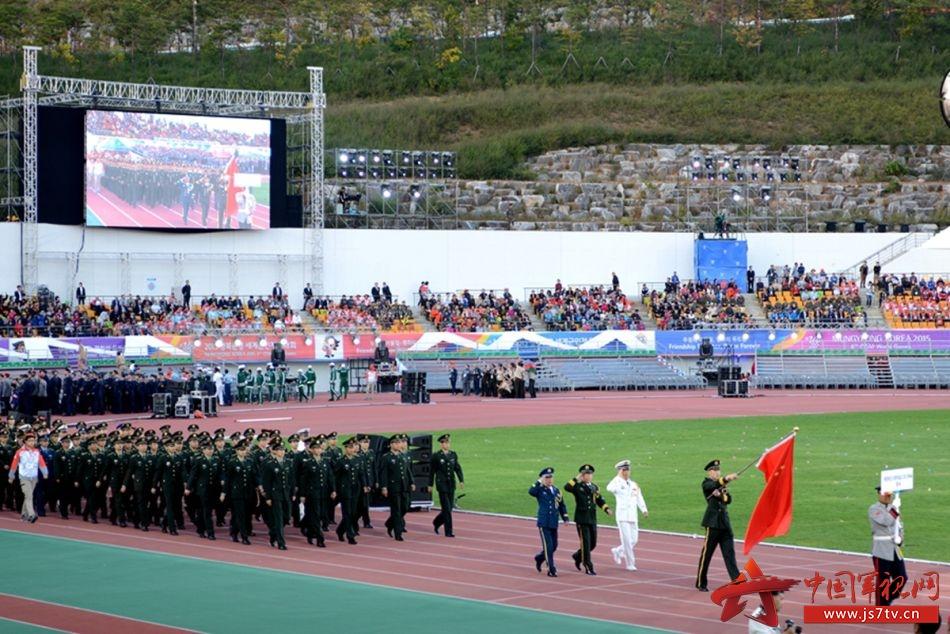高清组图:第六届世界军人运动会在韩国闻庆开幕- 中国军视网appcrash