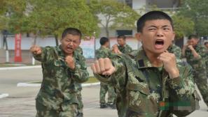 """2015年武警安徽省总队秋季新兵""""满月""""了"""
