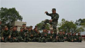 走进武警安徽省总队滁州市支队新训营