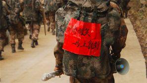 驻渝某部拉练途中:野战文化励兵心