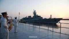巴基斯坦海军访华 战舰借机回娘家