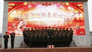 """13军某装甲团的""""千人颂"""":红歌也能余音绕梁"""