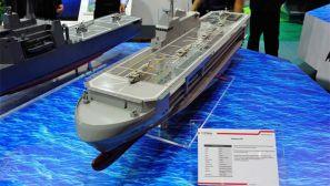 组图:新加坡航展坚韧-160级多功能登陆支援舰