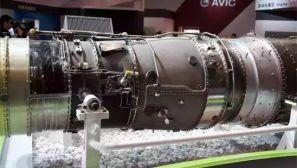 """2012年航展上的""""岷山""""发动机 大家看看做工如何"""