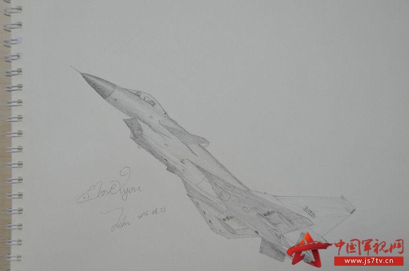 军训的手抄报上画的歼-10,看新闻时优先浏览军事新闻,上军事理论课会图片