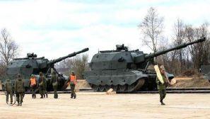 组图:红场胜利日阅兵在即 俄军重型装备云集