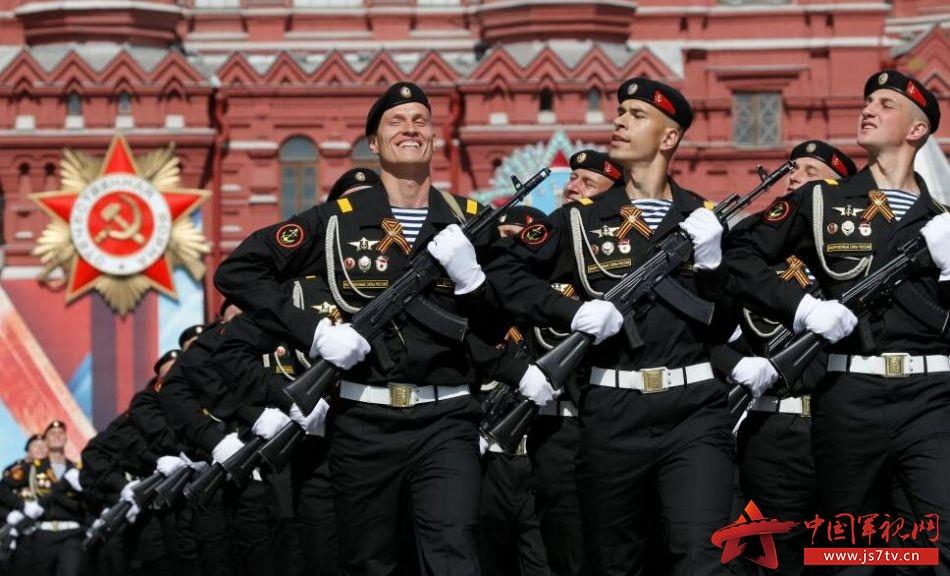俄罗斯举行胜利日阅兵式彩排.(资料图)