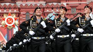 高清组图:俄罗斯纪念卫国战争胜利71周年阅兵彩排