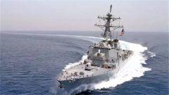 外交部:美舰未经中方许可闯南沙海域 坚决反对