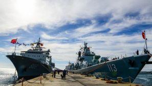 中国海军第二十二批护航编队开始访问南非
