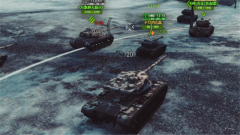 M系T57重型坦克持续作战