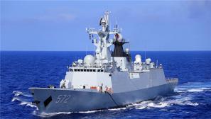 海军153舰艇编队航渡训练 强化官兵战备意识