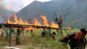 """武警特战队员在5000米高原进行""""魔鬼周""""训练"""