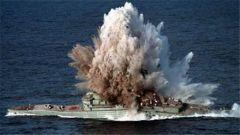 《战舰世界》现实中真正鱼雷命中战舰效果