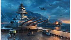 《战舰世界》外服海量战舰与事件壁纸搬运
