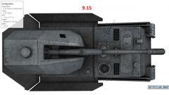 《坦克世界》黑豹自行火炮:高清火炮装甲/模型对比