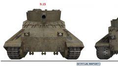 《坦克世界》高清火炮装甲/模型对比
