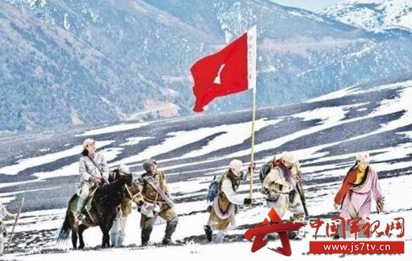 红色故事:13岁红军女战士爬雪山