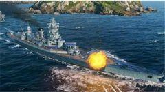 《战舰世界》法国战列舰敦刻尔克号再爆三张新图