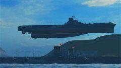 《战舰世界》航母飞天撞船