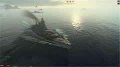 《战舰世界》法国新金币船敦刻尔克实战截图