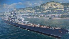 《战舰世界》颜值压倒对手!金币德巡欧根亲王造型曝光