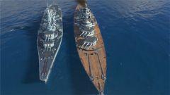 《战舰世界》德系10级战列舰大选帝侯高清对比