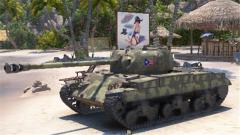 《坦克世界》 M系中坦T20全面分析