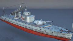 《战争雷霆》水上喀秋莎  武装巡逻舰开发日志