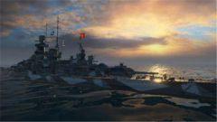 《战舰世界》里的大美人 格奈森瑙