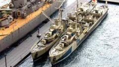 《战舰世界》罗德尼号战列舰模型船