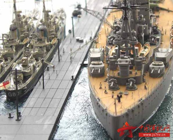 《模型资料》罗德尼号战列舰世界船v模型战舰工程图纸图片
