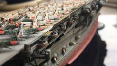 《战舰世界》富士美日航加贺模型分享
