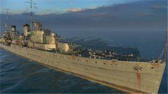 《战舰世界》珀斯号新金币船介绍