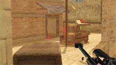 《特战英雄》中东村落狙击的位置