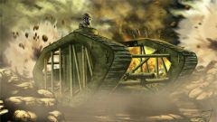 《坦克世界》美国一百年前的骨骼坦克