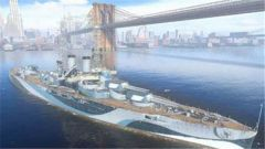 《战舰世界》完全体血量的白板怀俄明 阿肯色号金币船