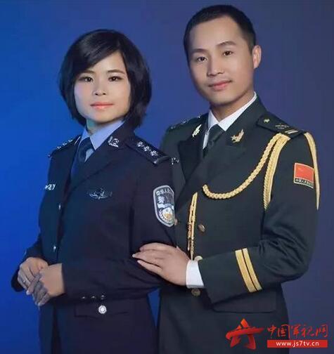 军人结婚服装搭配