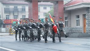 【国庆节】在军营,我们这样度过十月一日